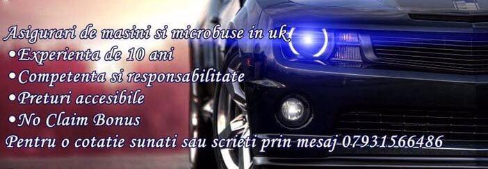 Asigurari Auto UK