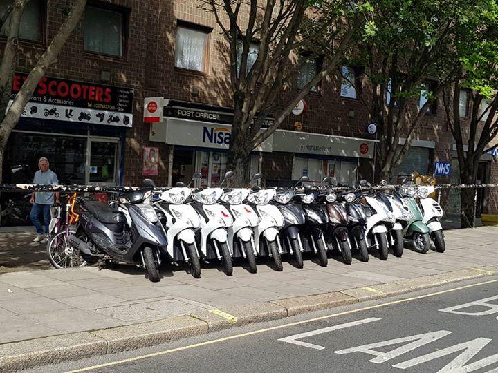 Scootere de vanzare UK!