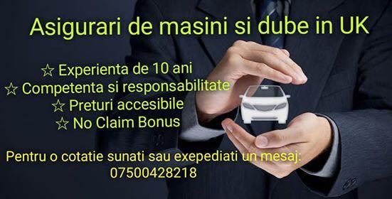 Operator asigurari auto UK