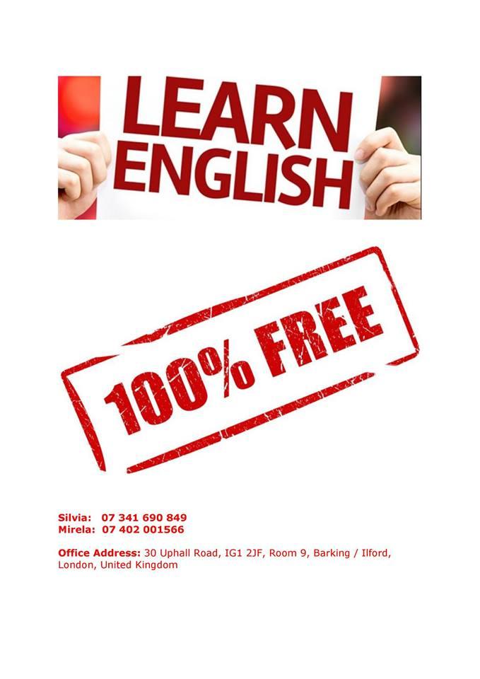 Cursuri de engleza gratuite UK