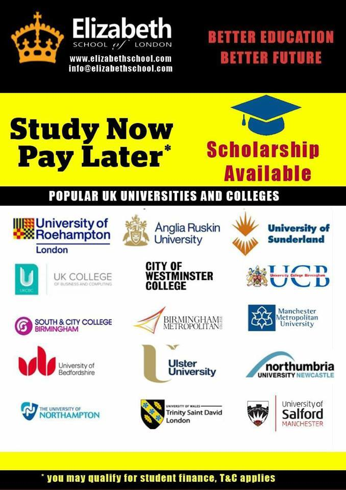 Admission process of universities and colleges in the UK – Open day Saturday 04/11/2017!!!