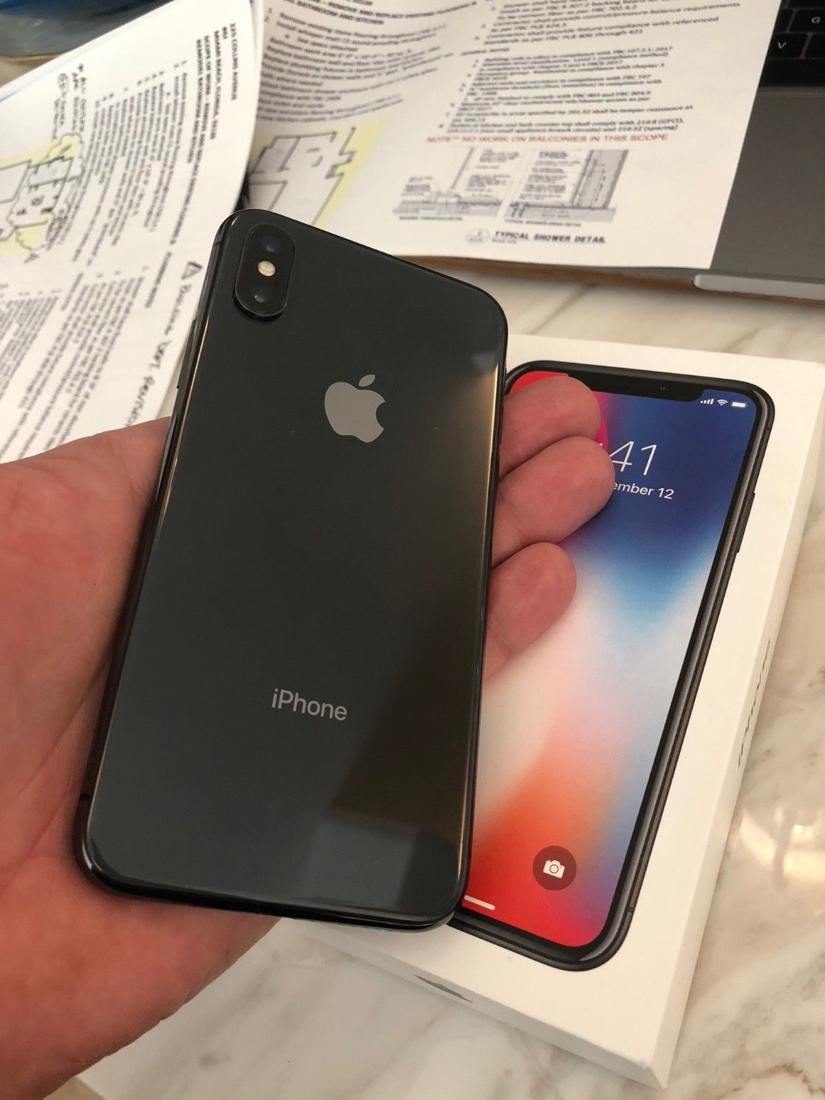 New Apple Iphone  X 256 Gb Space Gray For Sell