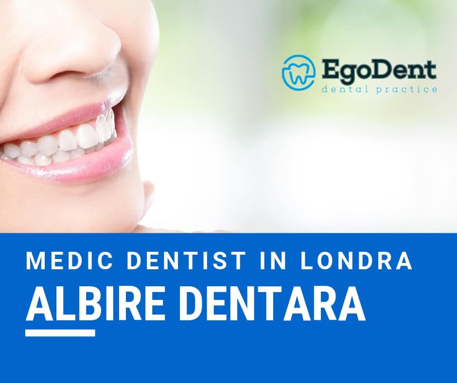 EgoDent iti ofera tratamente de albire dentara