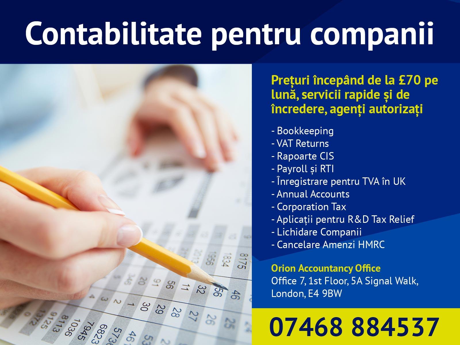 Contabilitate personalizata afacerii tale