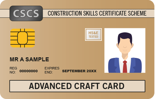 CSCS Gold Card