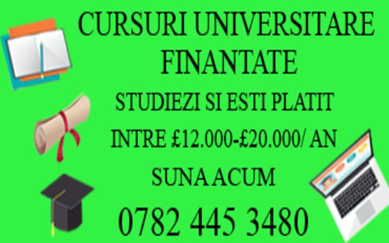 Cursuri finantate de guvern in Londra la colegiu/universitate