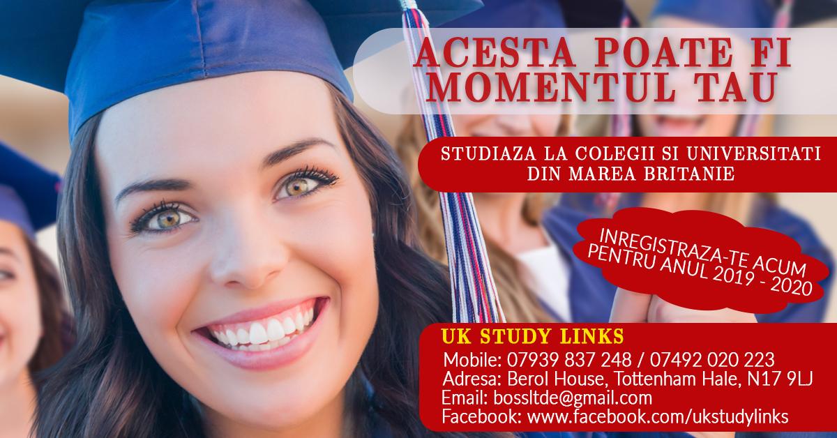 Inscrieri la colegii si universitati din Marea Britanie