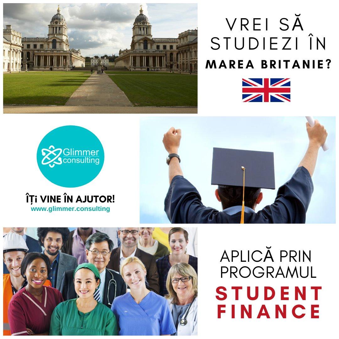 Cursuri Universitare prin programul Student Finance
