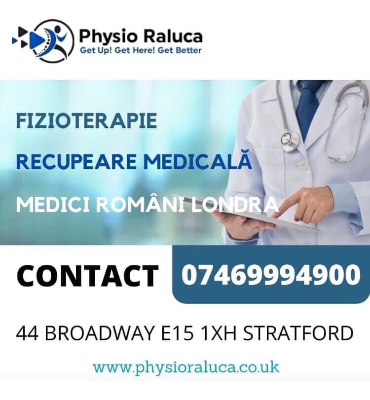 MEDICI ROMANI IN LONDRA-FIZIOTERAPIE